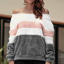 Load image into Gallery viewer, 2018 Autumn And Winter Striped Long Sleeve Sweater