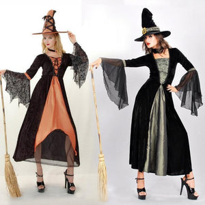 Halloween Split Joint Blinding Show Cosplay Dress