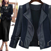 Load image into Gallery viewer, Fashion PU Leather Women's Jacket