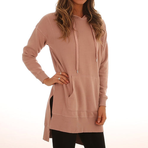 Autumn Plain Long Sweater Hoodies
