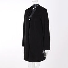 Load image into Gallery viewer, Warm Woolen Long Sleeve Coat