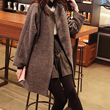 Load image into Gallery viewer, Fashion Woolen Slim Coat