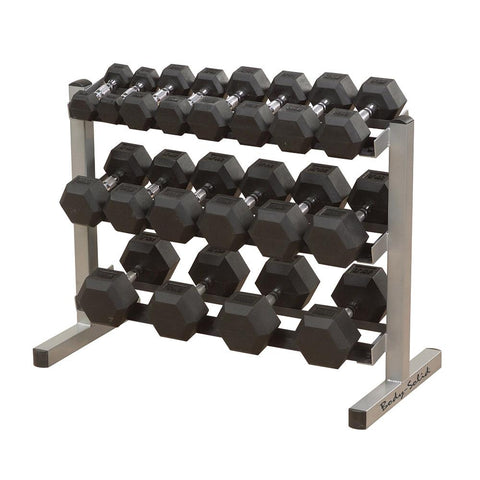 3 Tier Horizontal Dumbbell Rack