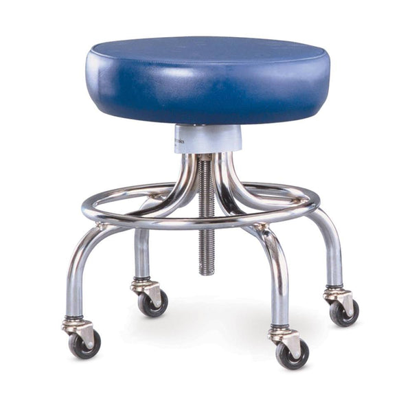 Mobile Stool with Foot Ring