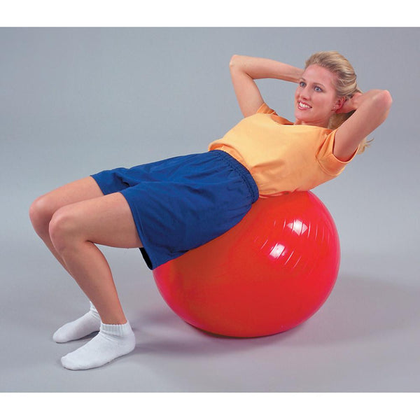 PVC Non-Slip Ribbed Exercise Ball