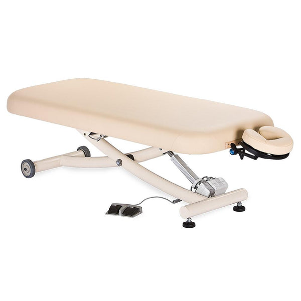 Ellora Electric Lift Massage Table with Easy-To-Use Foot Pedal