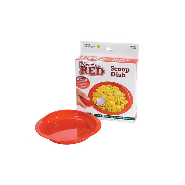 Power of Red Scoop Dishes