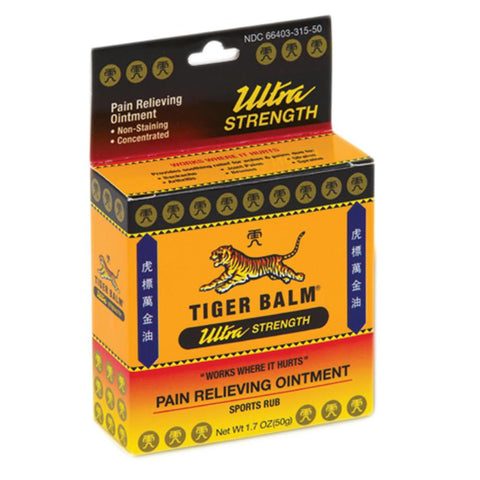 Tiger Balm Sports Ultra Pain Relieving Ointment