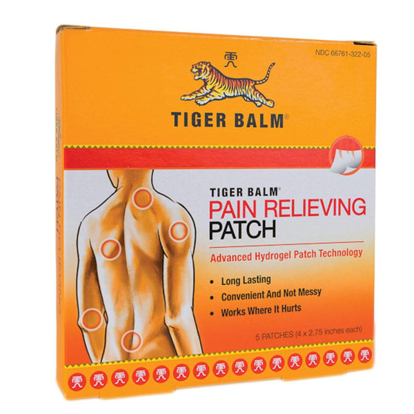 Tiger Balm Pain Relieving Patches