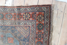 Load image into Gallery viewer, Faded distressed vintage rug