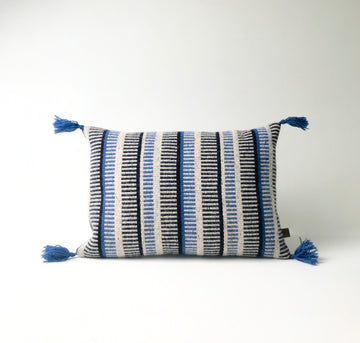 Tapestry Cushion - All The Blues