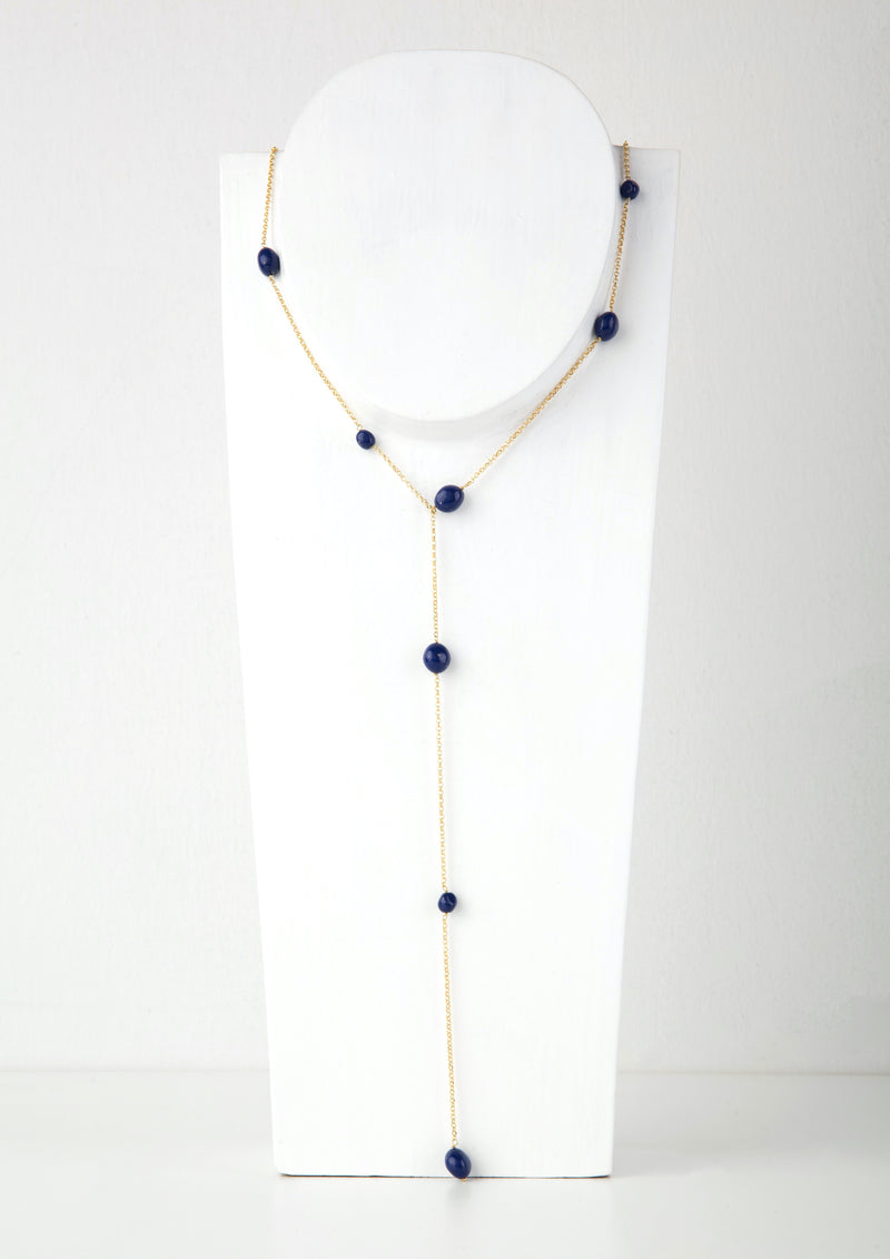 WATERFALL BLUE NECKLACE - JUSTBRAZIL