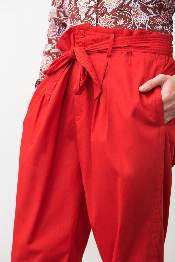 LAKA RED PANTS - JUSTBRAZIL