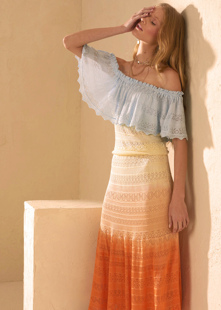 LEILA MULTICOLOUR DRESS - JUSTBRAZIL
