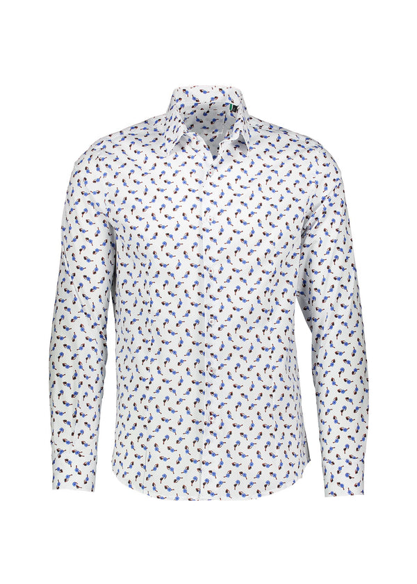 RED SUNGLASSES MEN'S SHIRT - JUSTBRAZIL