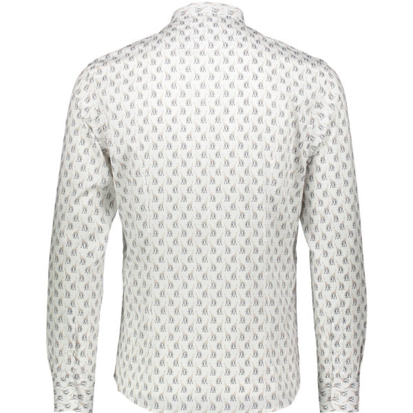 GIRAFFE WHITE MEN'S SHIRT - JUSTBRAZIL