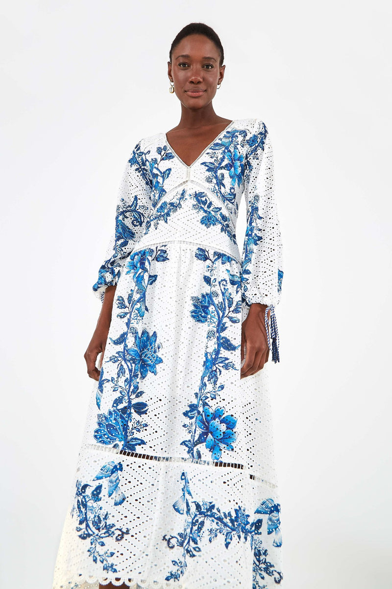 ARARA FLORAL MAXI DRESS - JUSTBRAZIL