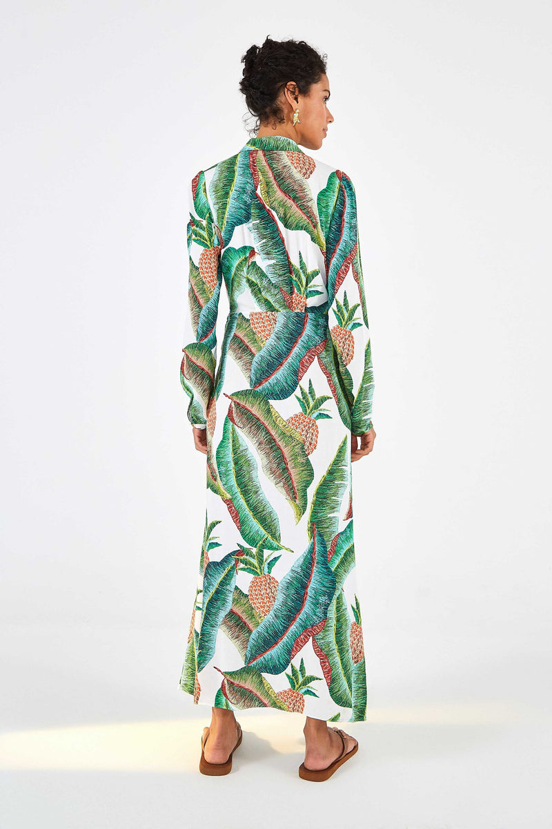 FOREST PALM MAXI DRESS - JUSTBRAZIL