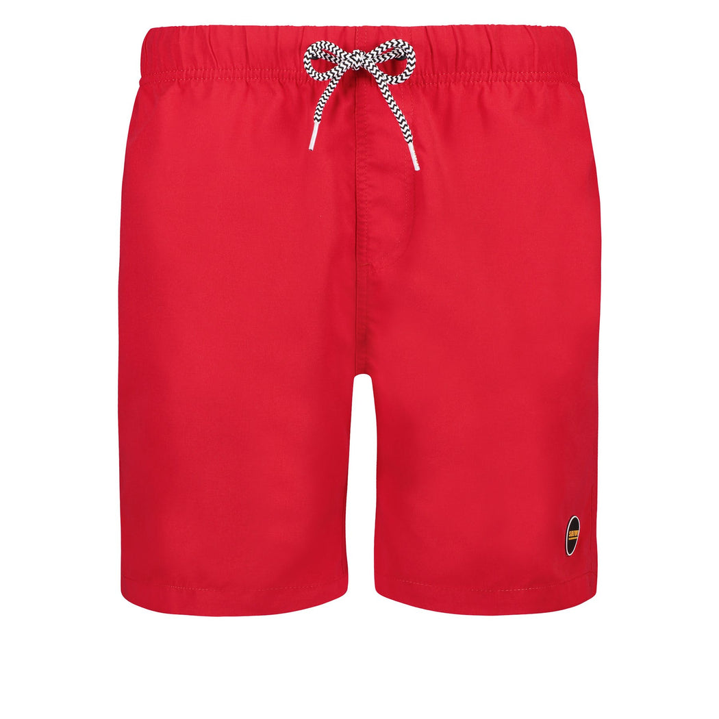 SOLID MIKE RED SWIMTRUNK