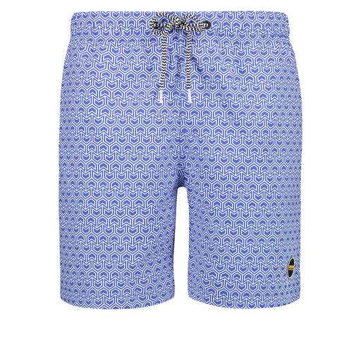 GEO ARROW BLUE SWIMTRUNK