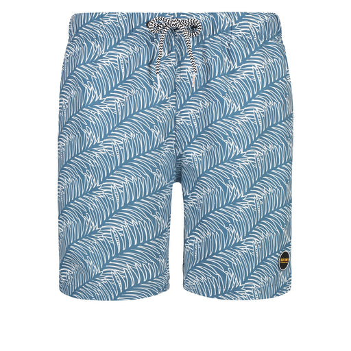 LEAF YACHT BLUE SWIMTRUNK