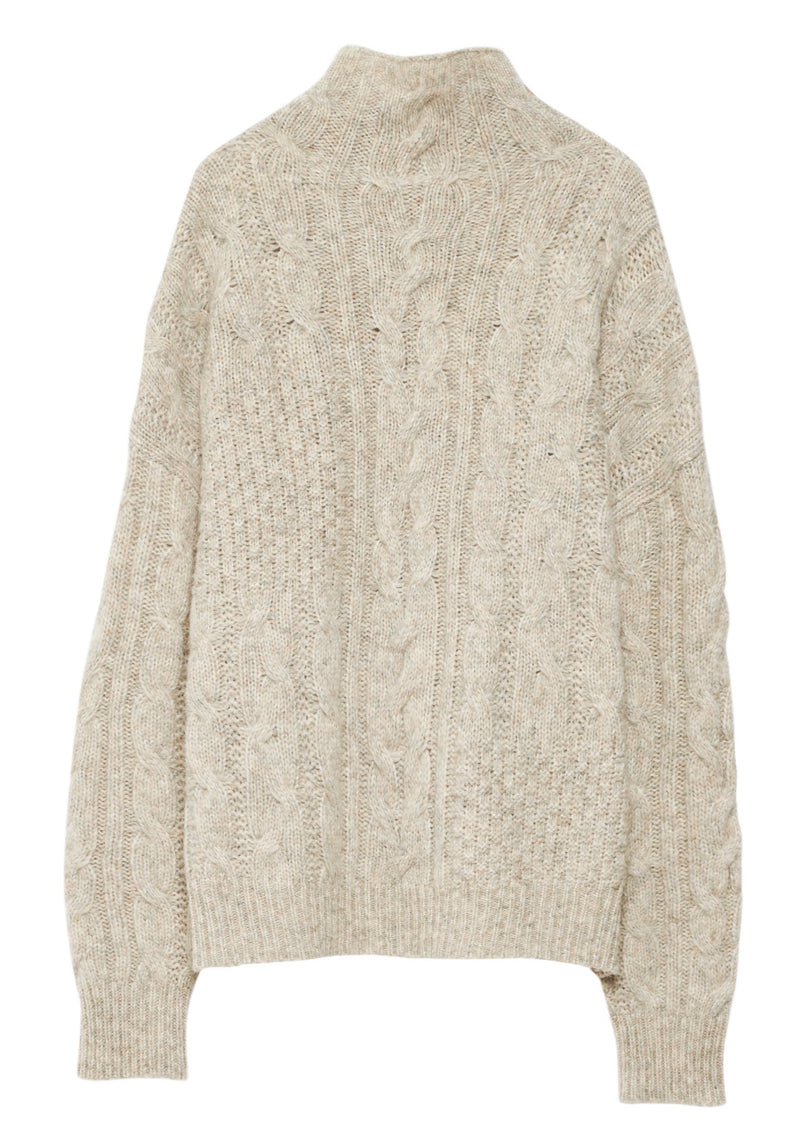 MARIANNA CABLE SWEATER - JUSTBRAZIL