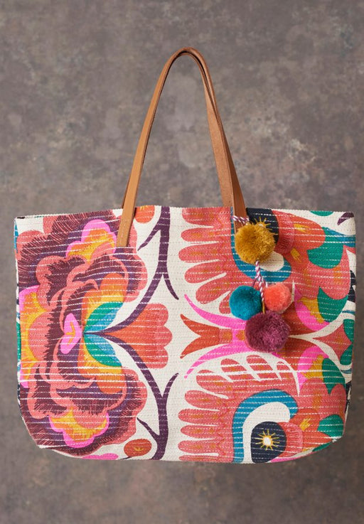 AMINTA TOTE CORAL BAG - just-brazil