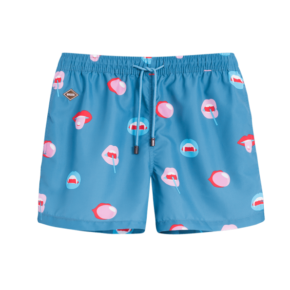 BIG MOUTH SWIM SHORTS - JUSTBRAZIL