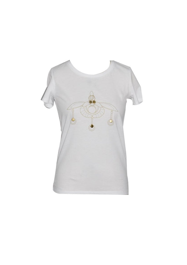 MELISSES WHITE T-SHIRT - JUSTBRAZIL