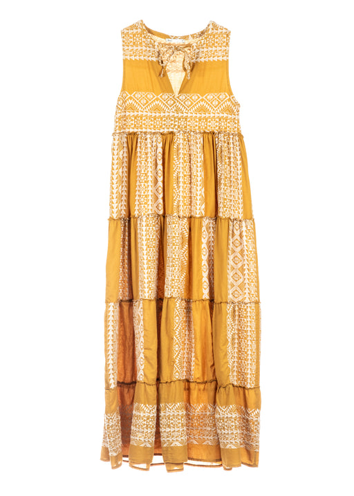BOHALI MUSTARD DRESS - just-brazil