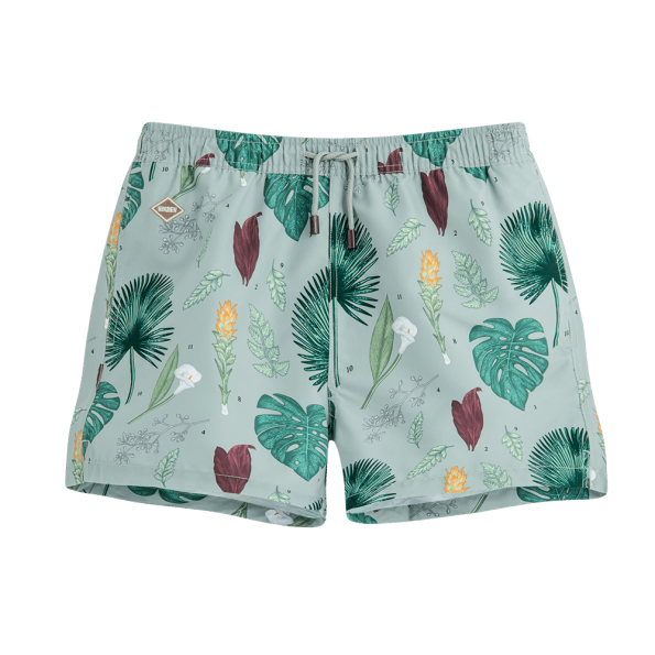 FLOWER POWER SWIM SHORTS - JUSTBRAZIL