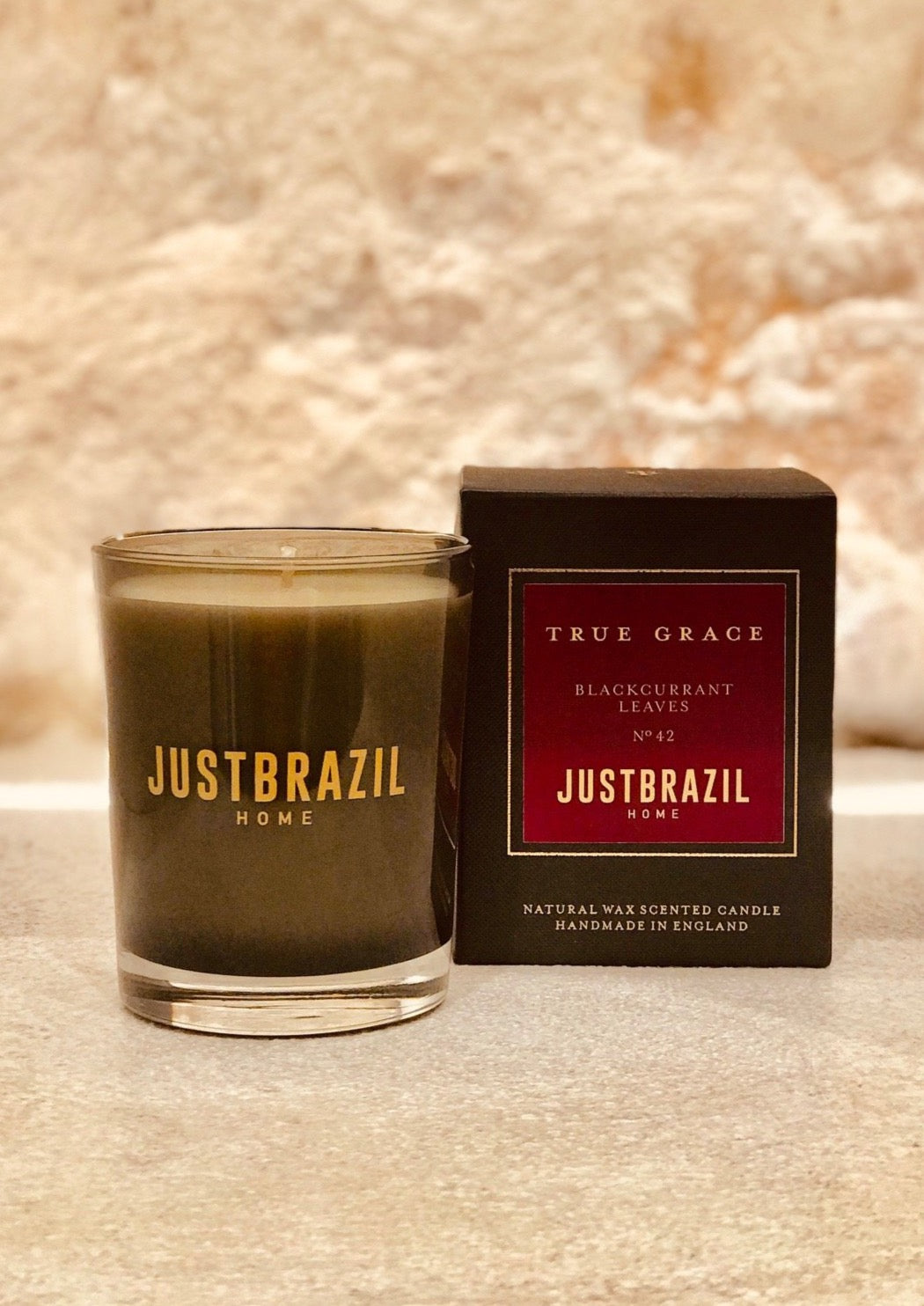 BLACKCURRANT LEAVES CLASSIC CANDLES - just-brazil