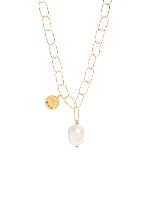 KRESSIDA LOST SEA NECKLACE - JUSTBRAZIL