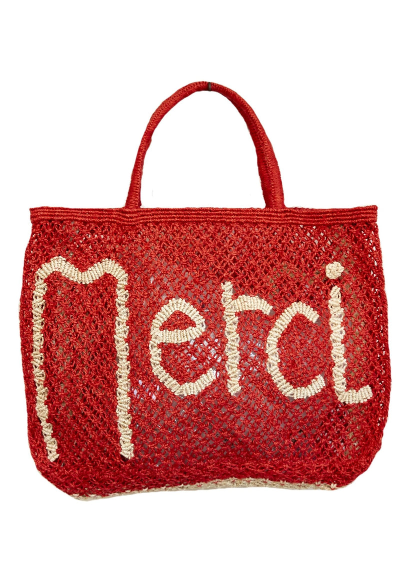MERCI SMALL JUTE BAG - JUSTBRAZIL