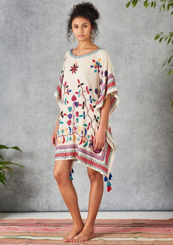 NEVAEH EMBROIDERED MULTI KAFTAN