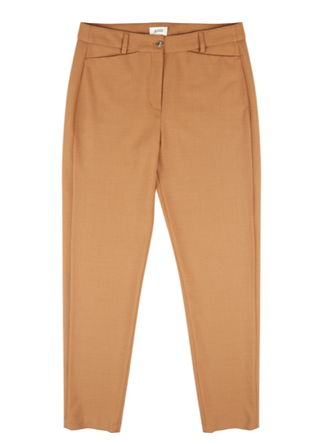 PLUMO CAMEL TROUSERS