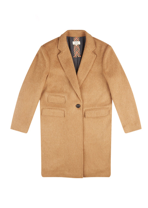 CAMEL TWO POCKET MANTEAU