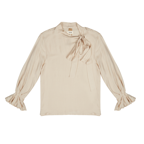 TOULOUMA BEIGE BOW TOP - JUSTBRAZIL