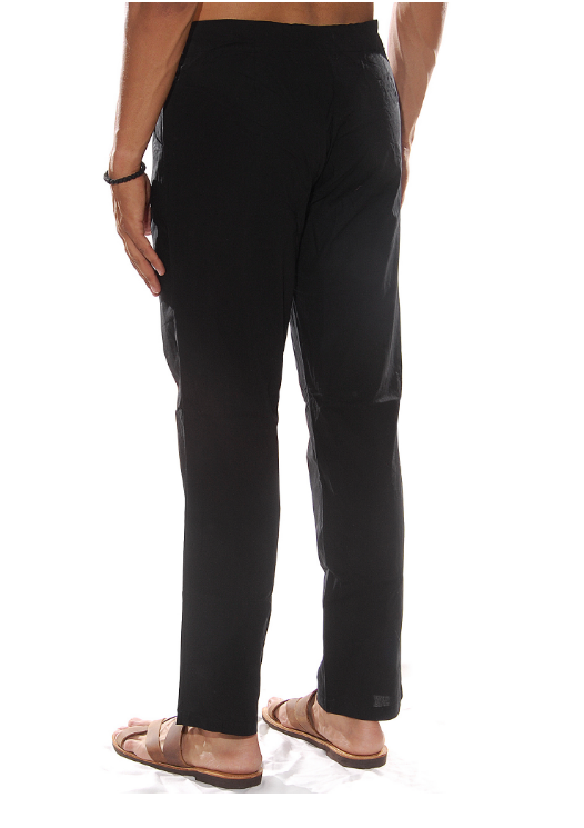 SUMMER TROUSERS BLACK - JUSTBRAZIL