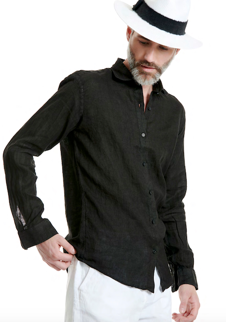 MEN'S LINEN SHIRT - JUSTBRAZIL