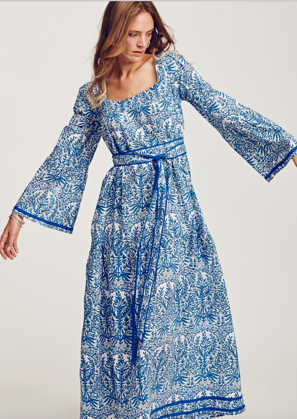 HIPPIE BLUE DRESS - JUSTBRAZIL