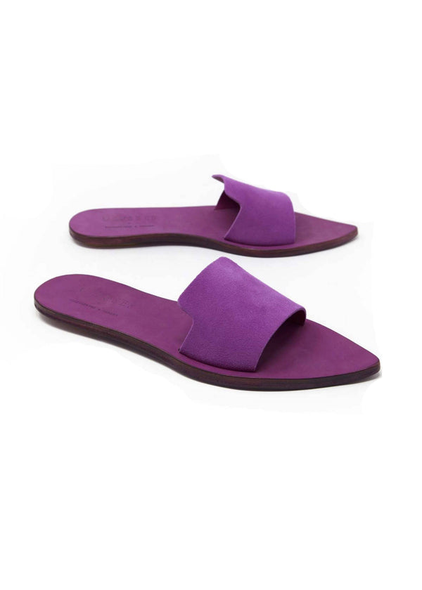 ONE STRAP PURPLE ''ANTIDOTE'' SANDALS - JUSTBRAZIL