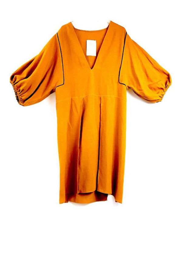 SOUQ MUSTARD DRESS - JUSTBRAZIL