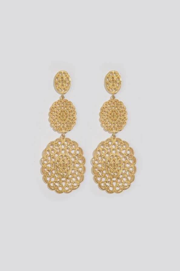 VENICE GOLD EARRINGS - JUSTBRAZIL