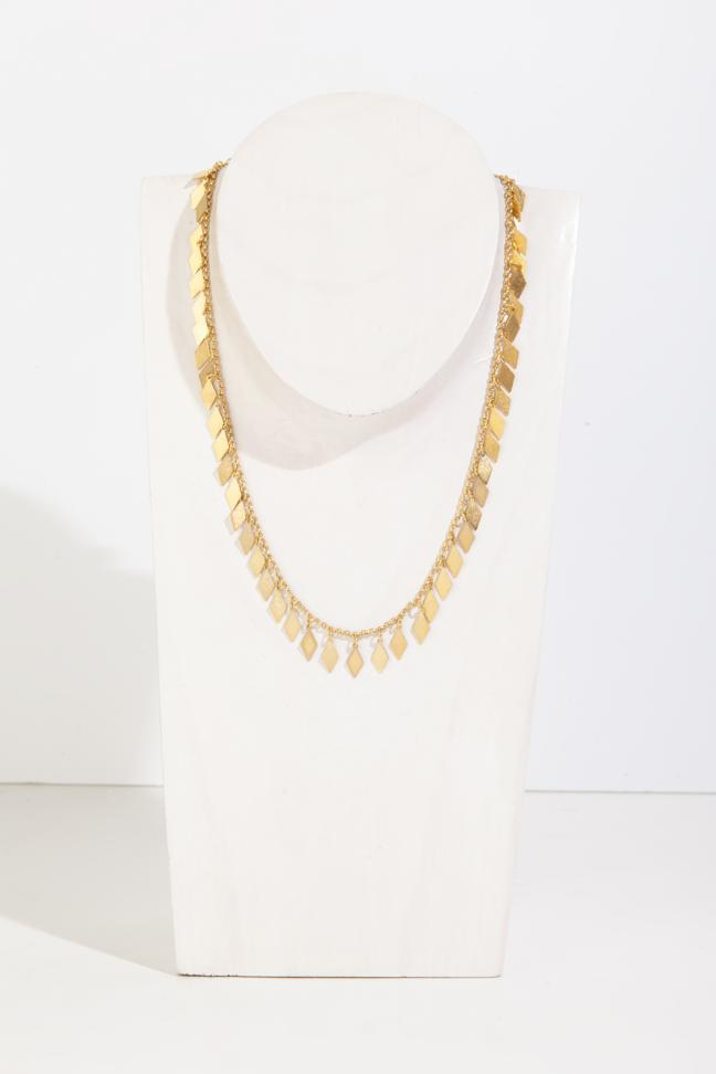 RHEA GOLD NECKLACE - JUSTBRAZIL