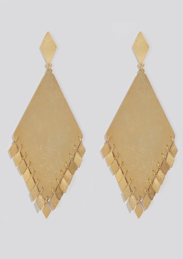 ASTRAEA GOLD EARRINGS - JUSTBRAZIL