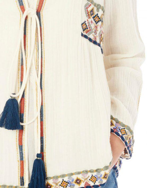 ANOUK EMBROIDERED MULTICOLOR JACKET - JUSTBRAZIL