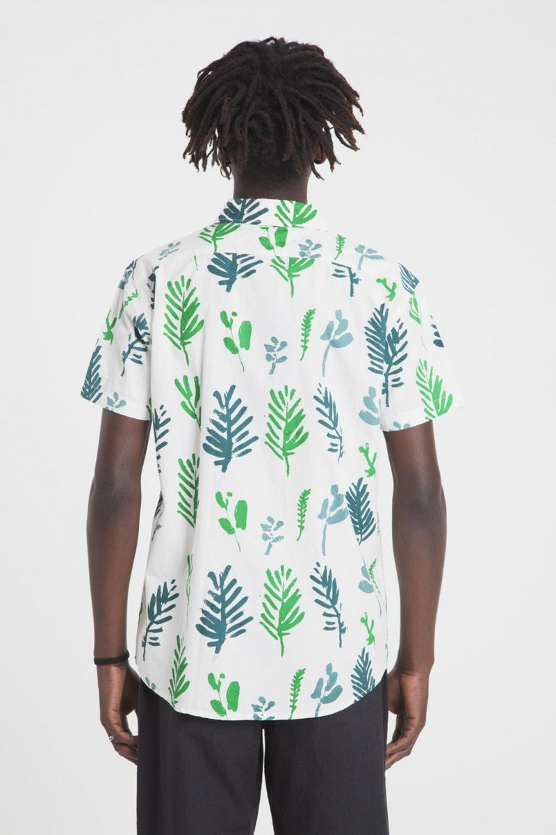 LEAF SNOW WHITE SHIRT - JUSTBRAZIL