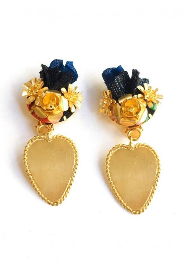 FRIDA BLUE EARRINGS - JUSTBRAZIL