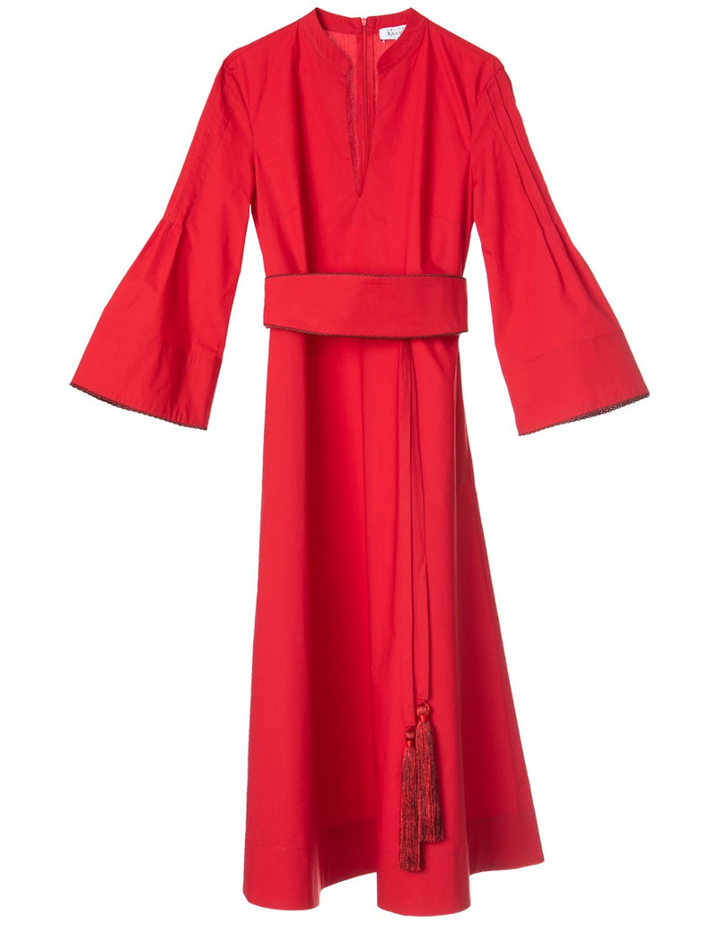 ELEFTHERIA RED DRESS